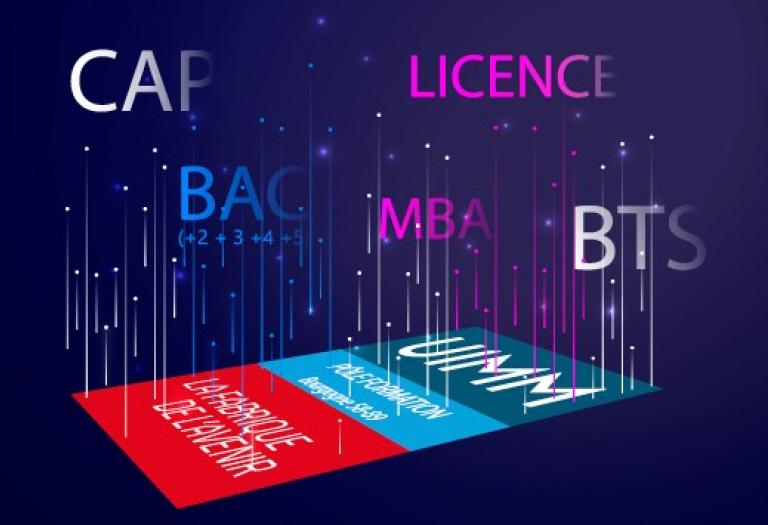 CAP BAC BTS LICENCE MBA