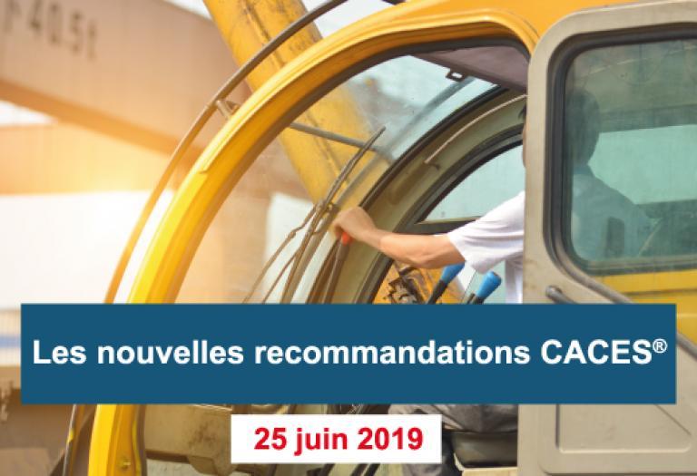 Réunion d'information nouvelles recommandations CACES