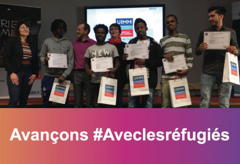 Avançons #Aveclesréfugiés Pôle Formation 58-89