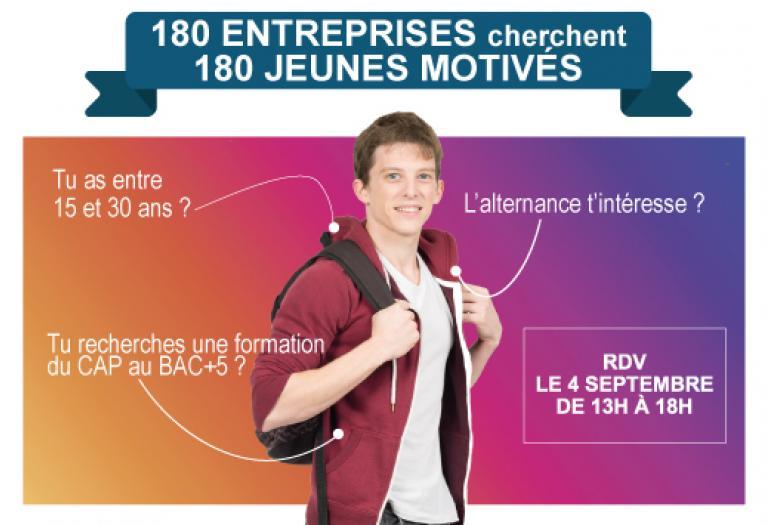180 entreprises recherchent 180 jeunes motivés au Pôle Formation 58-89