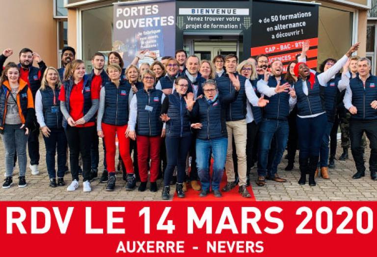 Journée Portes Ouvertes le 14 mars 2020